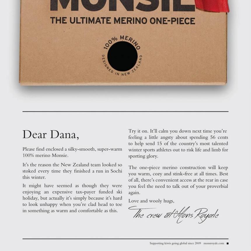 Mons Royale Print Ad