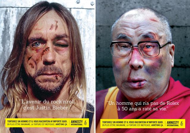 Amnesty International Iggy Pop